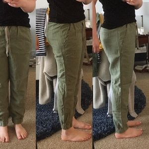 J.crew Seaside Linen Pants